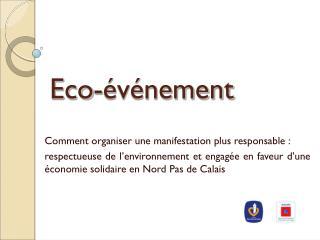 Eco-événement