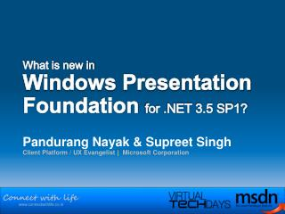 What is new in  Windows Presentation Foundation for  3.5 SP1