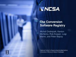 The Conversion Software Registry