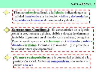 NATURALEZA, 1