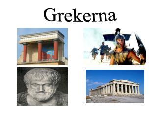 Grekerna