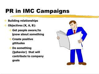 PR in IMC Campaigns