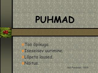 PUHMAD