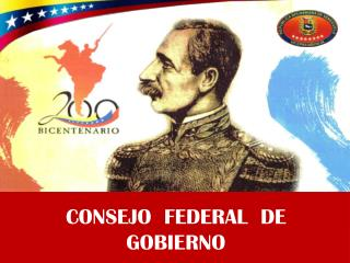 CONSEJO  FEDERAL  DE  GOBIERNO