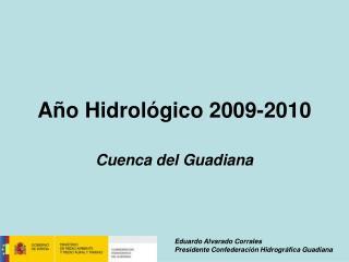 Año Hidrológico 2009-2010