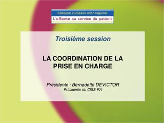 Projection vid�o LE DOSSIER PARTAG� PATIENT