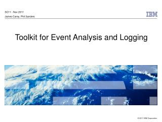 Toolkit for Event Analysis and Logging
