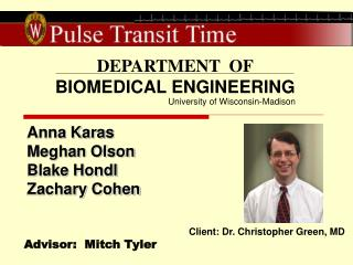 DEPARTMENT  OF BIOMEDICAL ENGINEERING