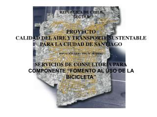 REPÚBLICA DE CHILE SECTRA