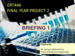 ERT446  FINAL YEAR PROJECT 2