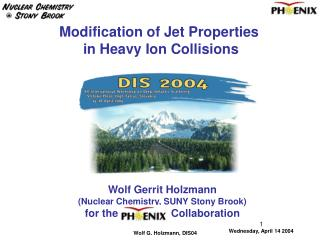 Modification of Jet Properties  in Heavy Ion Collisions