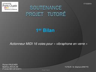 Soutenance projet   tutor�