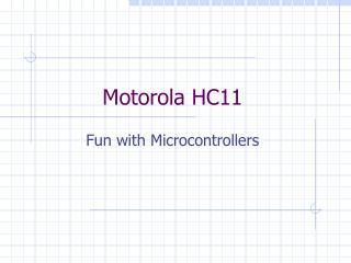Motorola HC11