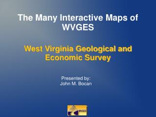The Many Interactive Maps of WVGES