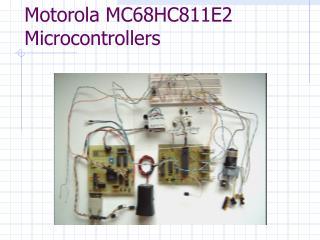 Motorola MC68HC811E2 Microcontrollers