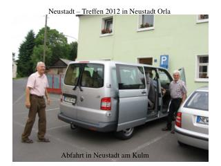 Neustadt – Treffen 2012 in Neustadt Orla
