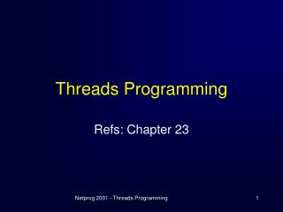 Threads Programming