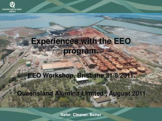 Experiences with the EEO program.