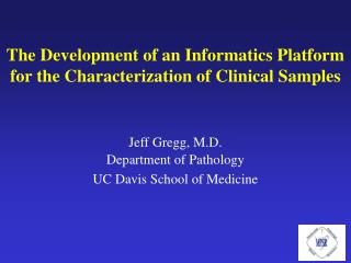 Jeff Gregg, M.D.