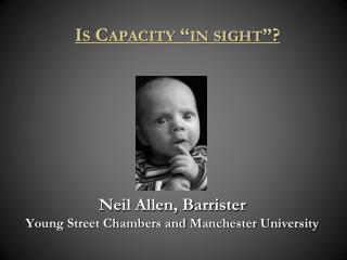 Neil Allen, Barrister Young Street Chambers and Manchester University