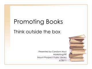 Promoting Books