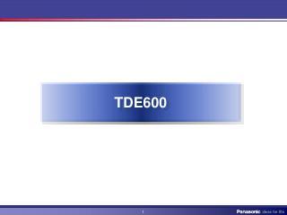 TDE600