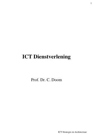 ICT Dienstverlening