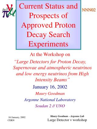 Current Status and Prospects of Approved Proton Decay Search Experiments