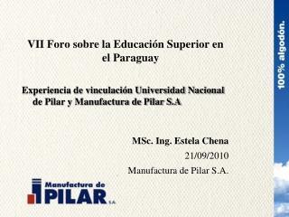 VII Foro sobre la Educación Superior en el Paraguay