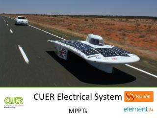 CUER Electrical System