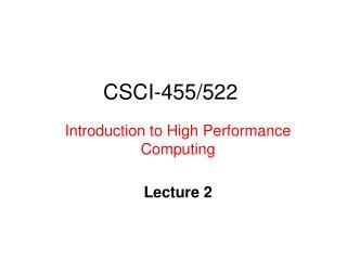 CSCI-455/522