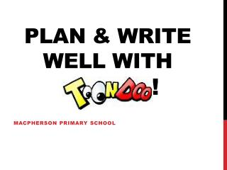 PLAN & WRITE WELL WITH              !