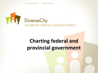 Charting federal and  provincial government