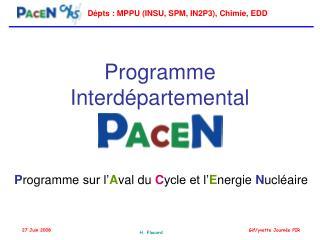 Programme Interdépartemental