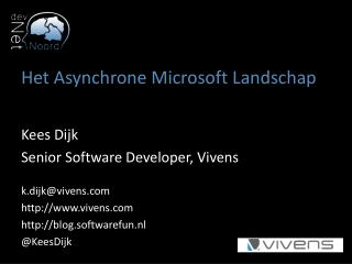 Het Asynchrone Microsoft  Landschap