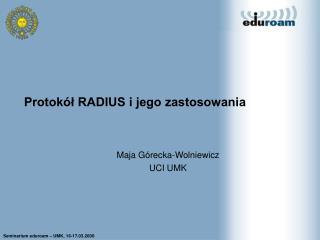Protokół RADIUS i jego zastosowania