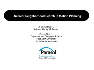 Nearest Neighborhood Search in Motion Planning