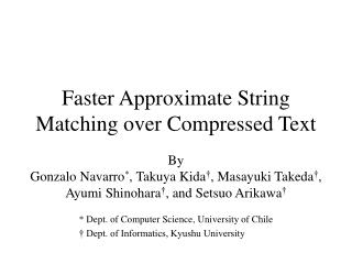 Faster Approximate String Matching over Compressed Text