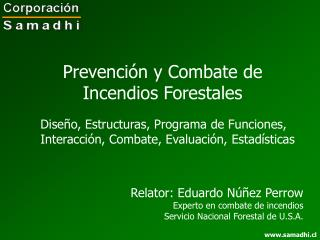 Prevenci n y Combate de Incendios Forestales