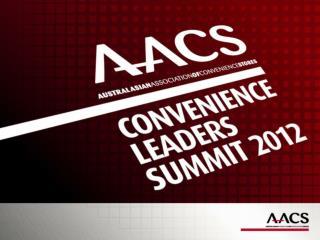 9:00    Jeff Rogut      AACS ED 9.15   Karim Sumar   AACS Chairman
