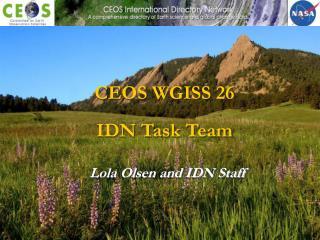 Lola Olsen and IDN Staff