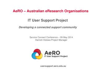 AeRO – Australian eResearch Organisations