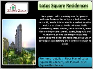 Lotus Square Residences.