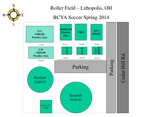 Roller Field – Lithopolis, OH BCYA Soccer Spring 2014