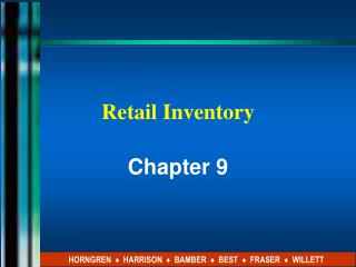 Retail Inventory