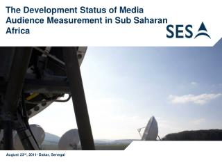 The Development Status of Media Audience Measurement in Sub Saharan Africa
