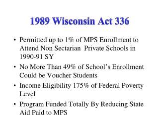1989 Wisconsin Act 336
