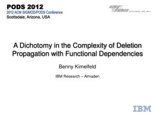 A Dichotomy in the Complexity of Deletion Propagation with Functional Dependencies