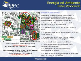 Energia ed Ambiente Edilizia Residenziale