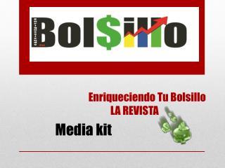 Enriqueciendo Tu Bolsillo            LA REVISTA